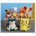 8 Kinds Option Pokemon Plush Toys 30cm High Quality Cute  Plush Toys Children's Gift Toy Kids Cartoon Peluche Pikachu Plush Doll