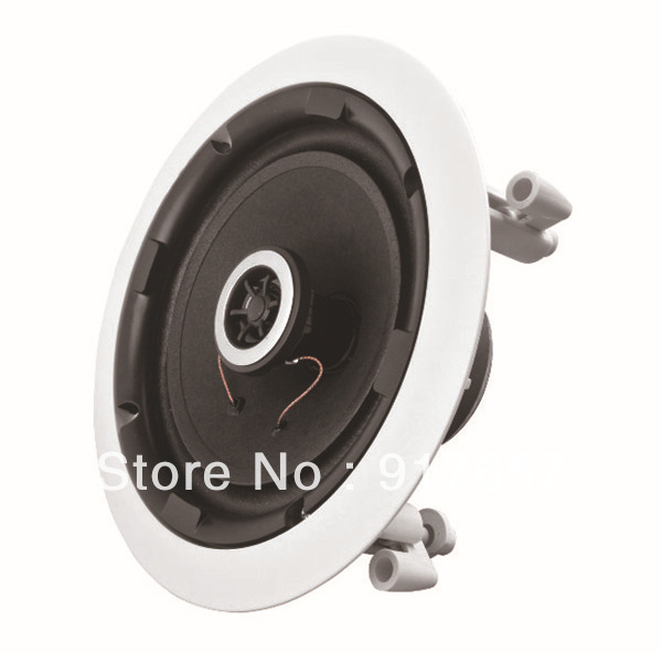 533 home audio in ceiling speaker 8ohm stereo ceiling speaker 5 inches bathroom kitchen audio for Ceiling speakers for bathroom