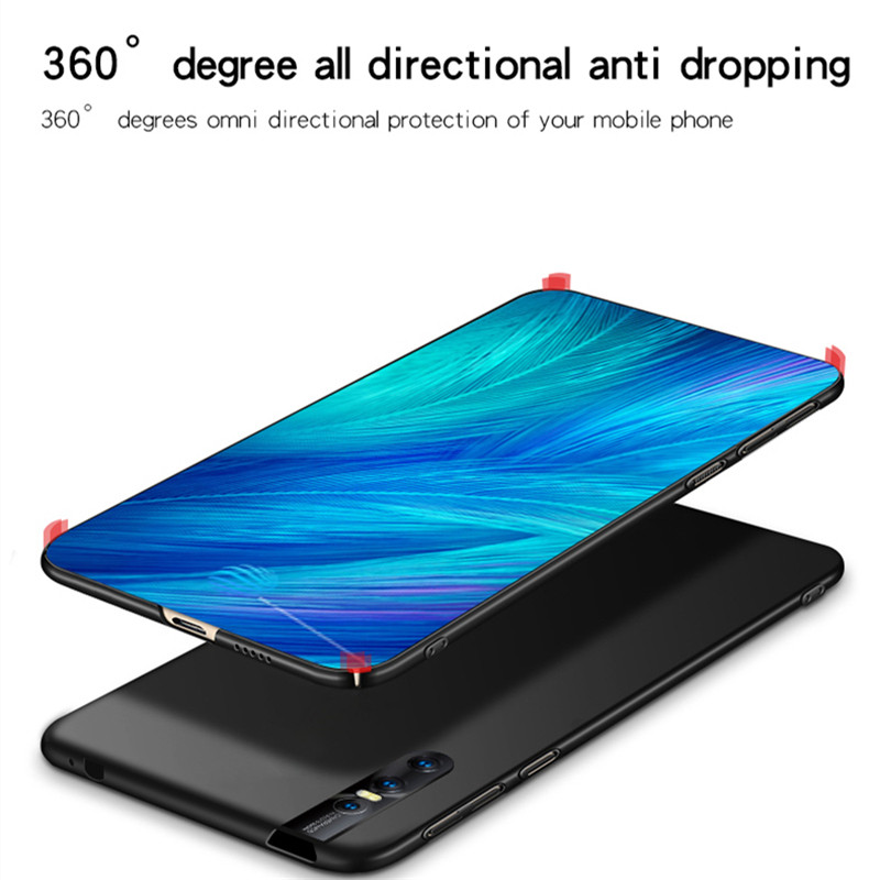 Image 4 - ViVO V15 Pro Case Silm Shockproof Luxury Ultra Thin Smooth Hard PC Phone Case For ViVO V15 Pro Cover For Vivo V15 Pro Fundas-in Fitted Cases from Cellphones & Telecommunications