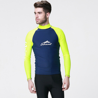 C69 Sunscreen Long Sleeved Swimsuit Jellyfish Clothing Surfing Suit Snorkeling Diving Suits Adult Male Coat