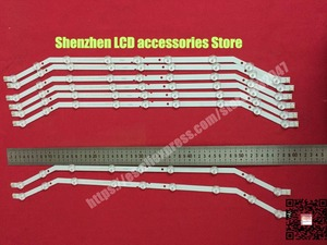 "Image 4 - 4piece/lot  9LED Backlight strip For Samsung 32""TV   2013svs32_3228N1_B2_09 Barra 9 LED Strip D3GE 320SM0 R2 UE32EH4003WX"