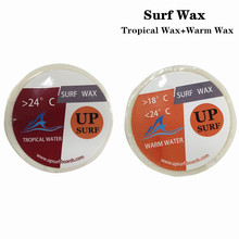 Surfboard natural wax Warm Wax+Tropical Water Wax for outdoor surfing sports