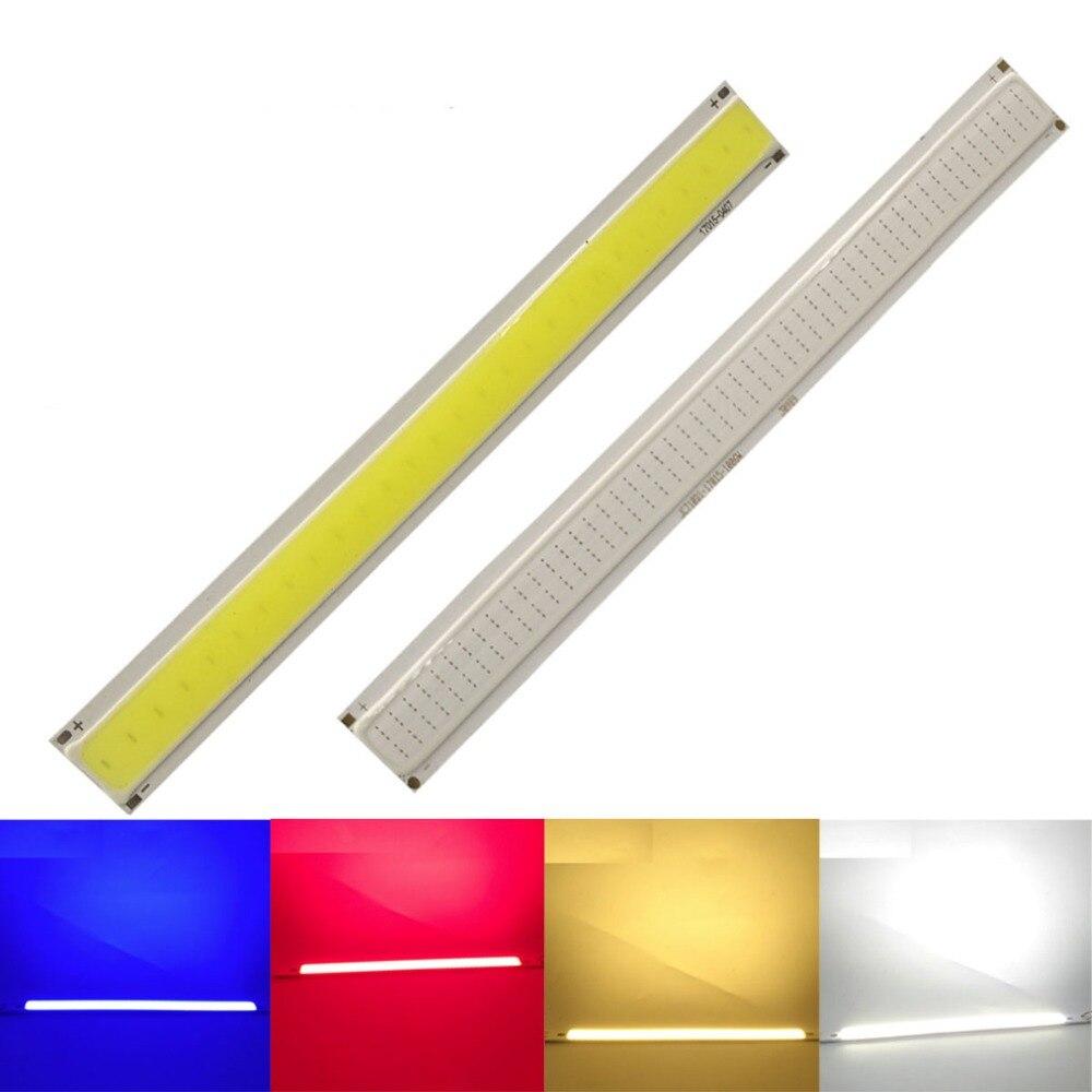 6W COB LED Square Light High Power Lamp Bead Chip Warm White Cool White Red Blue 12V For DIY Led Floodlight Decoration