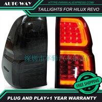 Бесплатная доставка фонарь светодиодный hilux revo задние фонари Габаритные задние фонари светодиодный фонарь чехол для toyota hilux revo автомобиль с