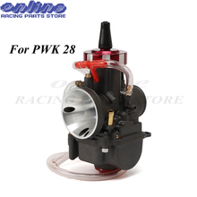 4T Engine universal Carburetor For Keihi PWK 28mm pwk28 Modify Off Road Motorcycle Scooter UTV ATV With Power Jets