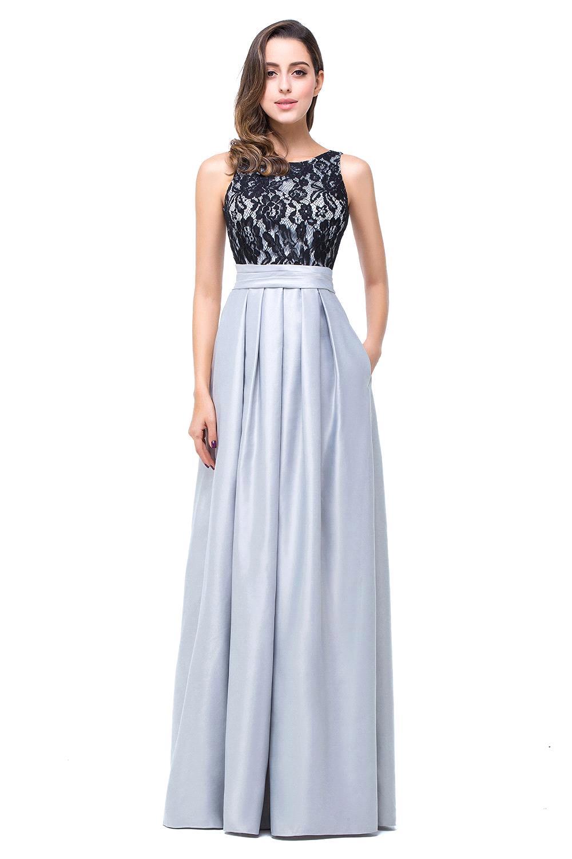 Robe Demoiselle D'honneur Silver Lace   Bridesmaid     Dresses   2016 Vestido Madrinha Formal Party   Dresses   for Weddings