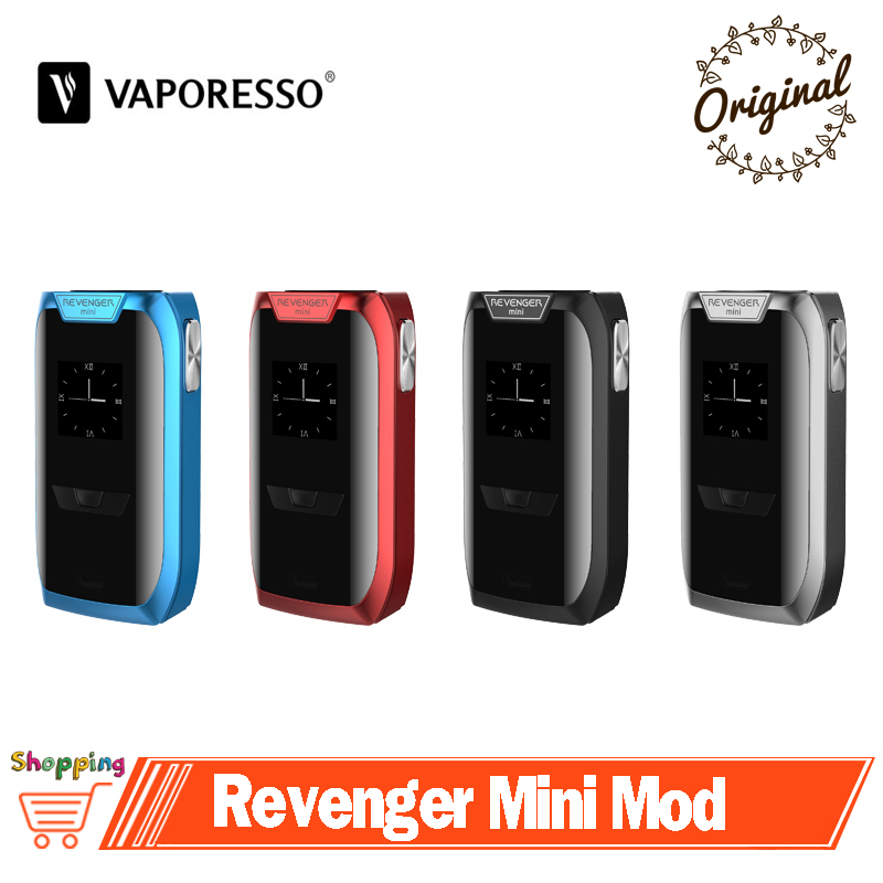 Original Vaporesso Revenger Mini Mod Vape 85W VW TC Box Mod 2500mAh Built in Battery Capacity