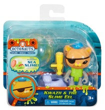 Free shipping by trackable shipping original Octonauts action figures Kwazii the Slime EEL child Toys 6