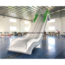 Inflatable floating water slide for boat , inflatable yacht slide inflatable floating water slide for boat inflatable yacht slide