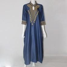 2016 Dashiki vestidos de algodón africano para mujeres Top Bazin africano tradicional privado africano ropa personalizada dashiki de una pieza