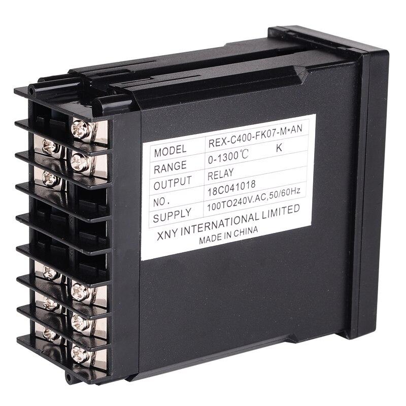 Podwójny cyfrowy regulator temperatury PID REX-C400 z termoparą - Przyrządy pomiarowe - Zdjęcie 5