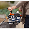 Waterproof Baby Stroller Storage Bag Maclaren Accessories Diaper Bag Mummy Bag Feeding Bottle Bag Organizer Car Hanging Basket