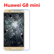 5 Pcs Ultra Thin Clear HD LCD Screen Guard Protector Film With Cleaning Cloth For Huawei G8 mini. pandaoo superior ultra clear series lcd screen protector for retina ipad mini transparent