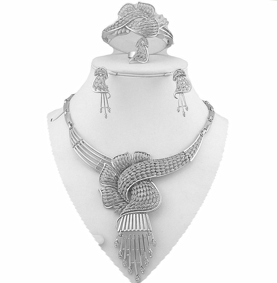 sterling silver jewelry sets african gold plating jewelry set wholesale price african women jewelry set