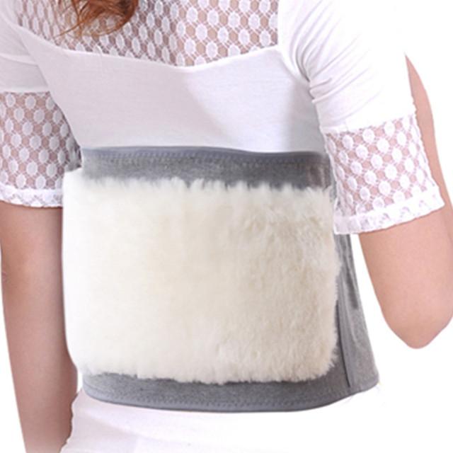 1 Unids Nueva Lana Caliente Cintura Brace Cinturón de Cintura Elástica Transpirable Atención Sanitaria Ayuda de la Cintura Protector