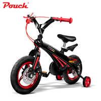 SACCHETTO della bicicletta della bici di alta qualità in lega di alluminio leggera integrale stampaggio cornice per i bambini a guidare