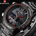Watches Men 2016 NAVIFORCE Fashion Brand Quartz Clock Army Military Sport Watch Digital Wristwatches relogio masculino 9024