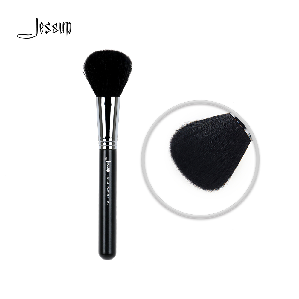 Jessup Professional Face brush Makeup brushes brush Beauty Tools Cosmetic Large Powder Foundation Goat Hair 150 22p01 professional makeup brushes soft sokouhou goat hair face powder brush black handle cosmetic tools make up brush