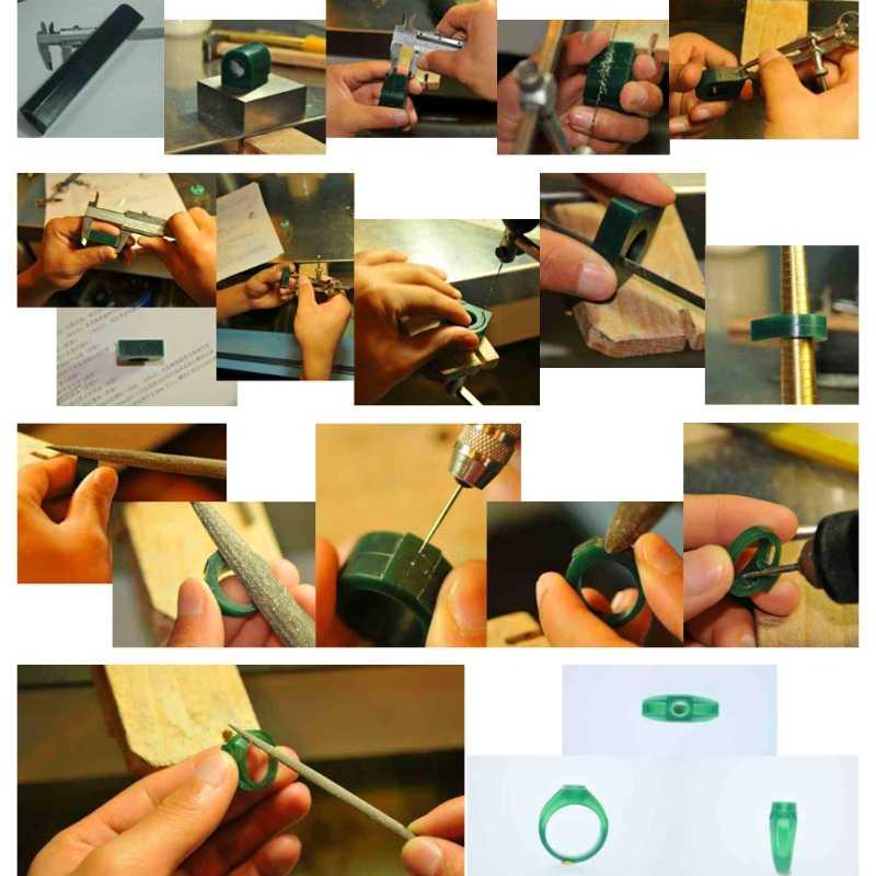 Halka Kalıp 4 Boyutu Takı Yapımı Oyma Heykel Balmumu Tüp Düz Üst Enjeksiyon Aracı