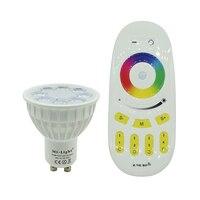 Milight GU10 4W LED Spotlight RGB CCT Indoor Lamp AC85 265V 2 4G RGBW Wireless Remote