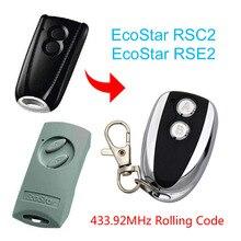 Hormann ecostar rse2 rsc2 comaptible handsender 433mhz código de rolamento remoto frete grátis