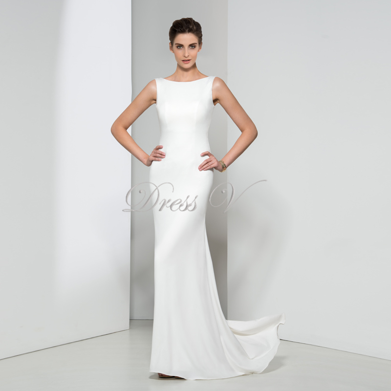 Aliexpress.com : Buy Dressv Huate Couture 2017 Long White Evening ...