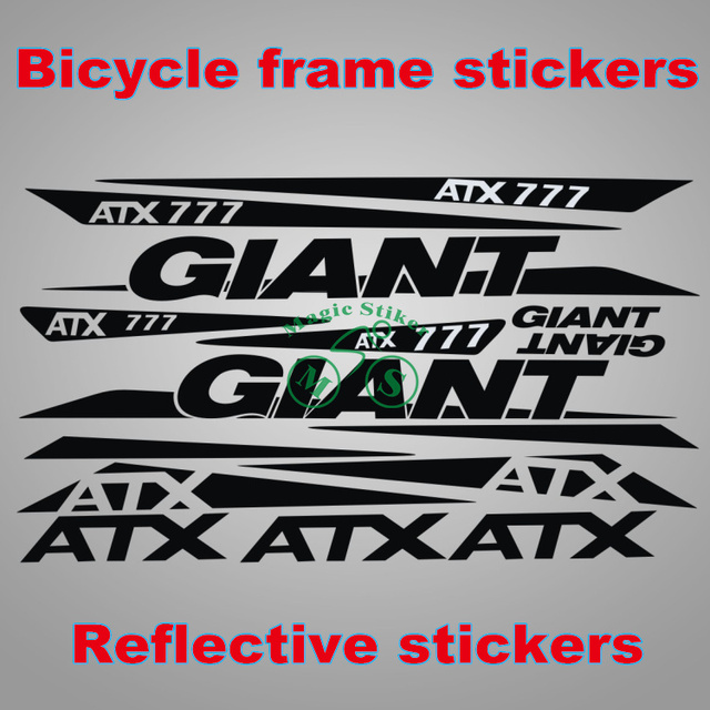 Motorcycle stickers giant sticker sets decorative stickers bike decals frame stickers bicycle stickers