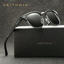 Retro Unisex Aluminum Magnesium Mens Sunglasses Polarized Vintage Eyewear Accessories Sun Glasses For Men Women 6690