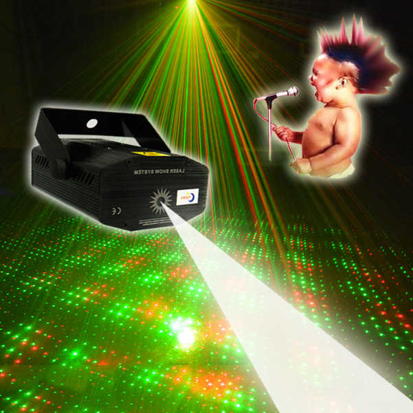Led для лазерного шоу прожектор для дискотеки сценические огни мини портативный акустический звук управление ночной Светильник для вечерние бар Рождественский диско шар