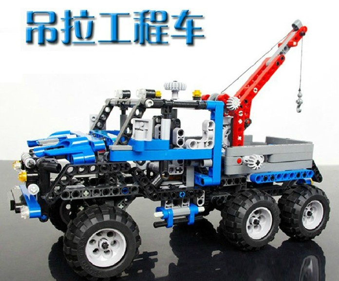 Decool 3332 Exploiter Series Transport Crane 678pcs Car Model Building Block Sets Educational DIY Bricks Toys for children 608pcs race truck car 2 in 1 transformable model building block sets decool 3360 diy toys compatible with 42041