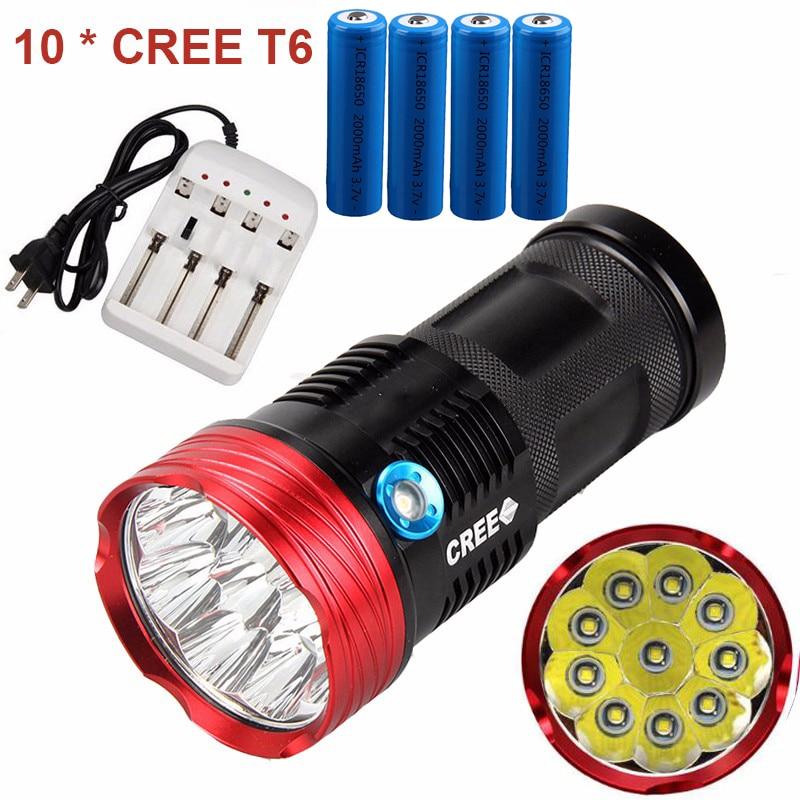 New Portable LED Flashlights 18000 lumens