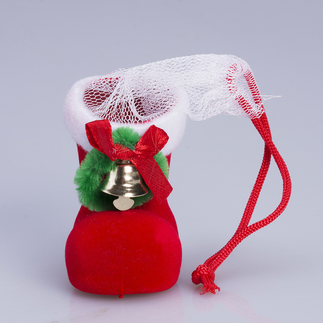 Xmas Santa Candy Boots Shoes Stockings Christmas Tree Hanging Decoration Candy Gift Holders