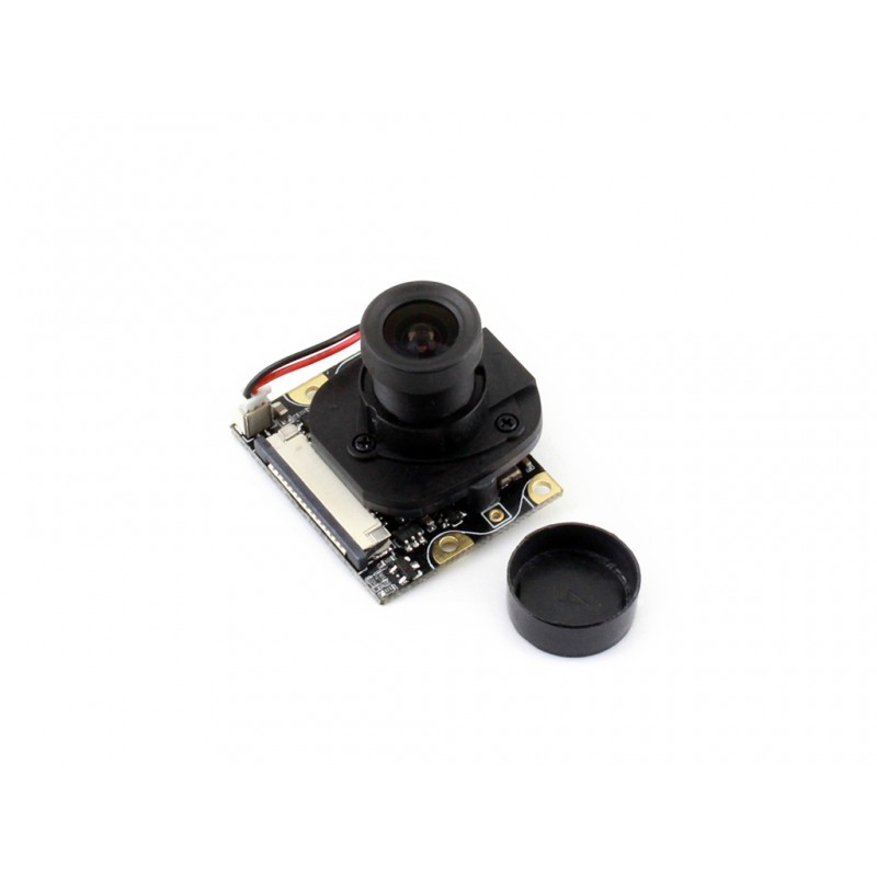 Modules WaveshareRaspberry Pi 3 Camera Embedded IR-CUT Webcam 5MP 1080p Night Vision Better Image in Day and Night for all revis цена 2017