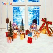 Yeele Christmas Photocall Interior Gifts Snowman Photography Backdrops Personalized Photographic Backgrounds For Photo Studio