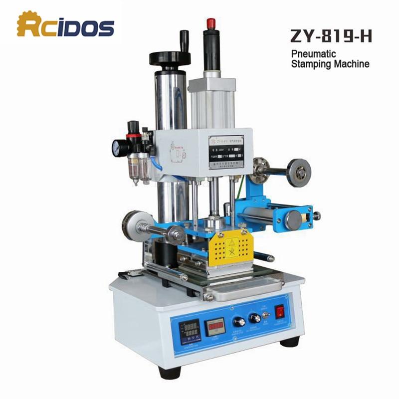 ZY-819H Otomatik Damgalama Makinesi, RCIDOS deri LOGOSU Kırma - Sanat, el sanatları ve dikiş
