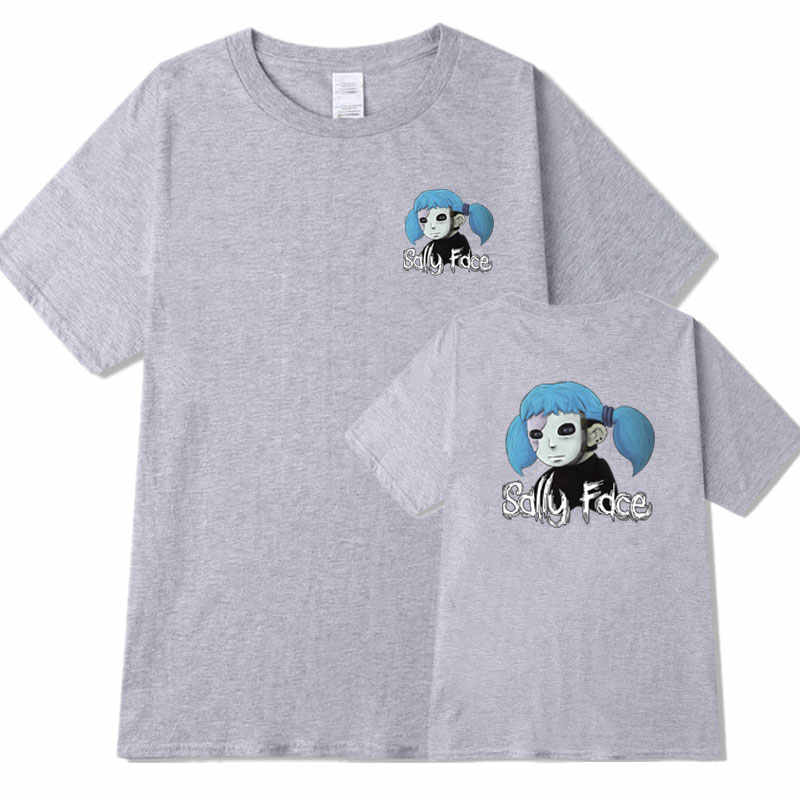 d87a7e871 ... Fashion Streetwear Sally Face t shirt Men Women Short sleeve Cotton T- Shirt camisetas hombre ...