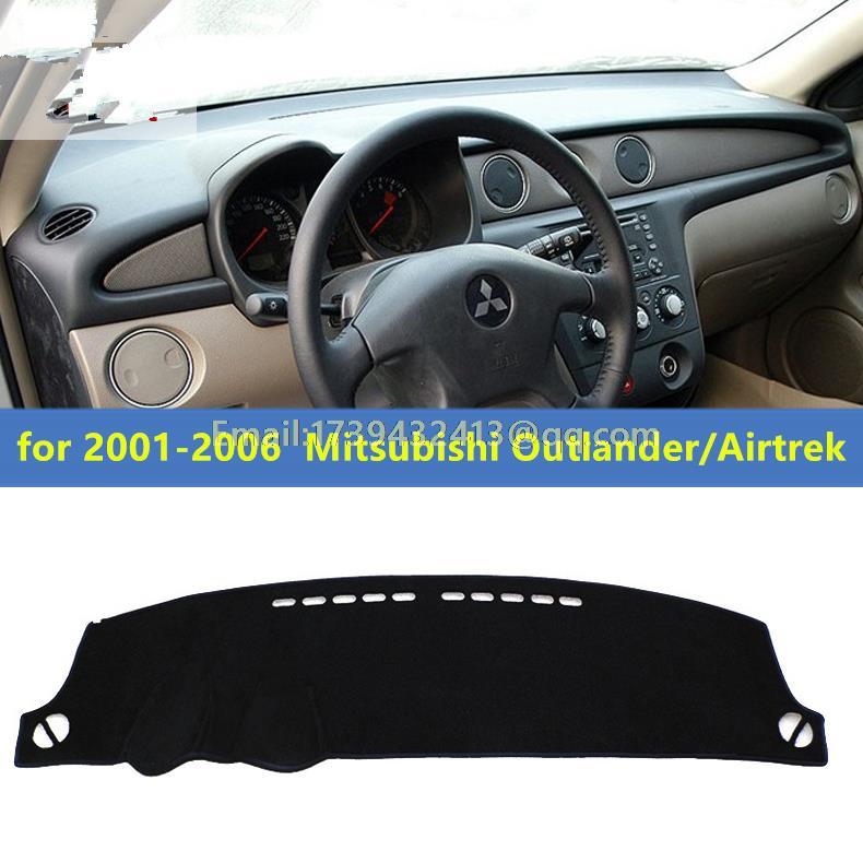 Dashmats car styling accessories dashboard cover for Mitsubishi Montero Outlander Airtrek 2001 2002 2003 2004 2005 2006