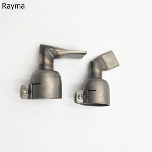 Image 2 - 20 mm 60 Degree Angled Wide Slot Weld Nozzle with 20 mm 90 Degree Angled Wide Slot Weld Nozzle For Triac S Hot Air Gun