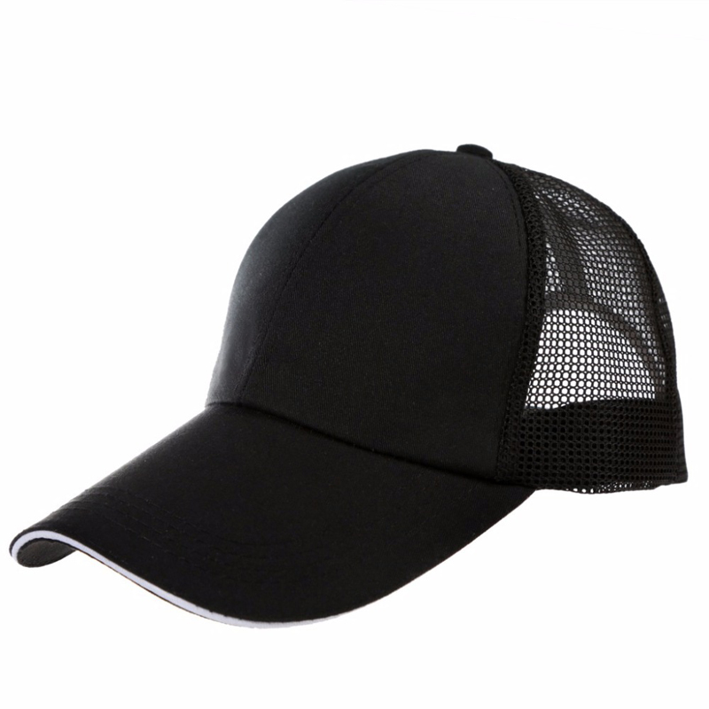 2018 Ponytail Baseball Cap Women Messy Bun Baseball Hat Snapback