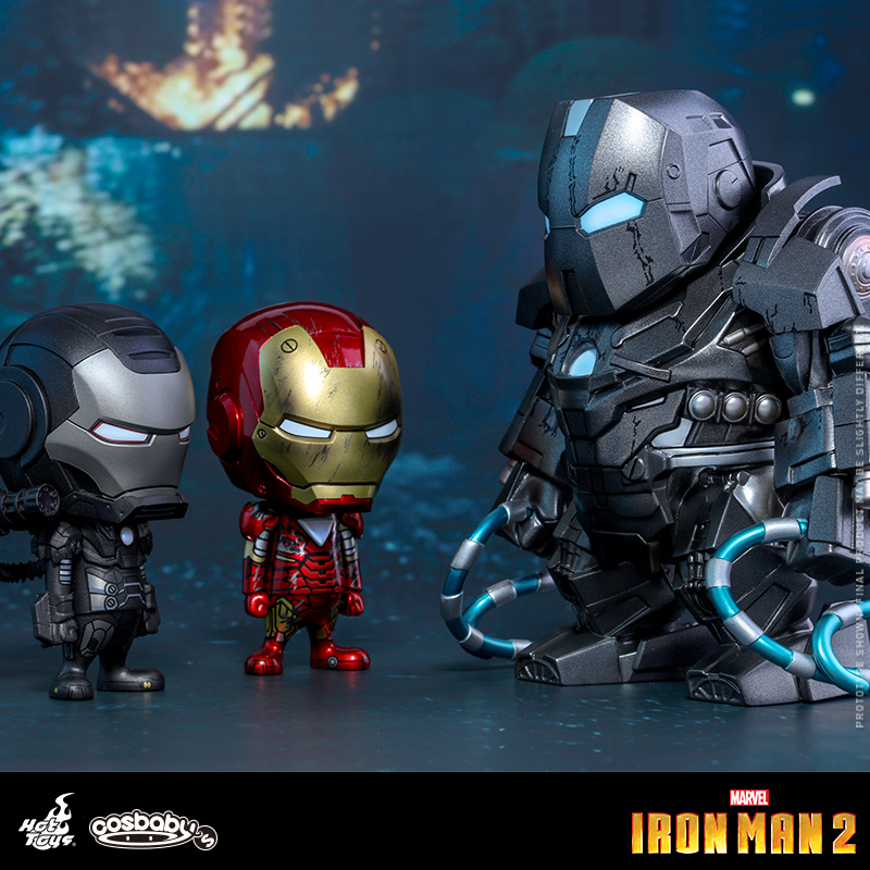 Original HT Hot Toys COSB270 COSBABY Mini Collectible Iron