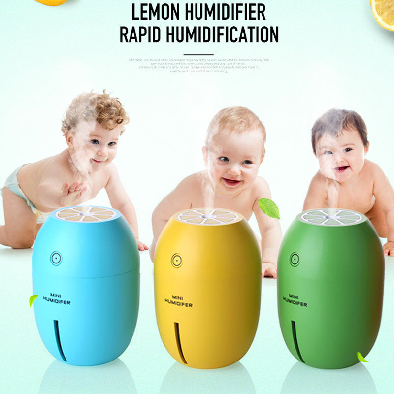 USB Aromatherapy Air Ultrasonic Humidifier Essential oil Diffuser Mist Maker Forgger Electric Lemon Aroma Diffuser Humidifier hot sale humidifier aromatherapy essential oil 100 240v 100ml water capacity 20 30 square meters ultrasonic 12w 13 13 9 5cm
