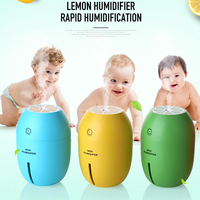 USB Air Ultrasonic Humidifier Essential Oil Diffuser Mist Maker Forgger Electric Lemon Aroma Diffuser Aromatherapy Humidifier
