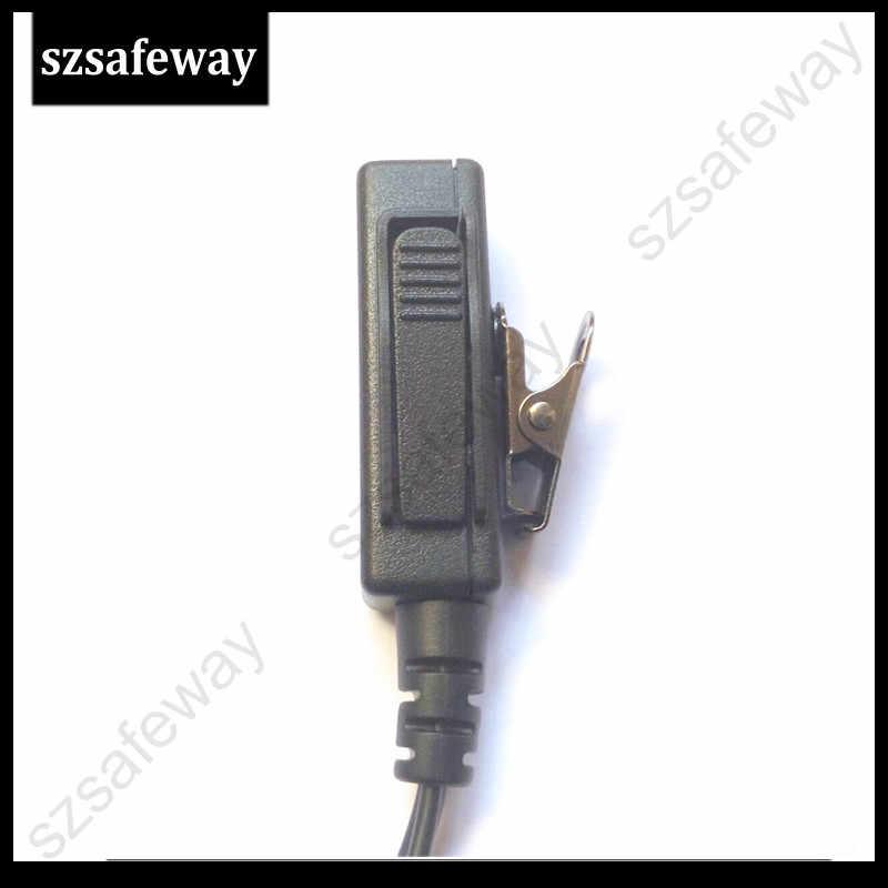 10 шт. двухстороннее радио наушники walkie taklie гарнитуры Динамик для Hytera TC-700, TC-610, TC-620, TC-518, TC-580, TC-446S, TC-508