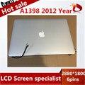 100% Тестирование Работает в исходном Для Apple Macbook Pro Retina 15 ''A1398 Полный ЖК-Экран Ассамблея 2012 MC975 MC976