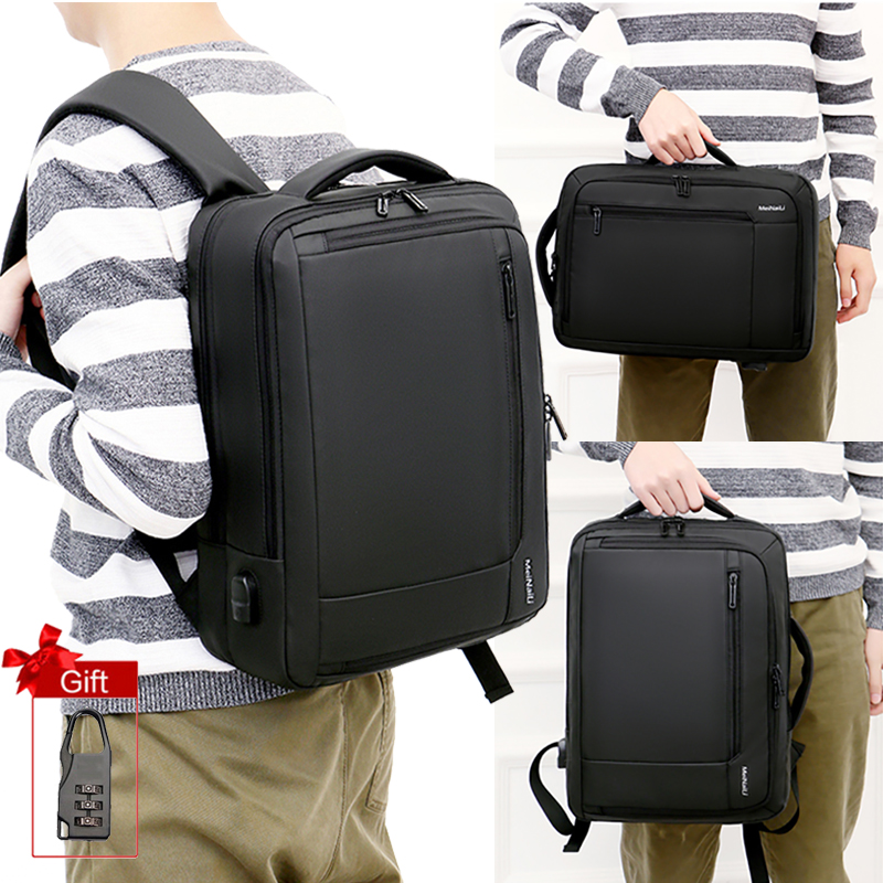 Business Men Backpack Bag Anti Theft 15.6inch Laptop Notebook Backpacks Smart USB Large Backpacking Outdoor Travel Luggage Bags