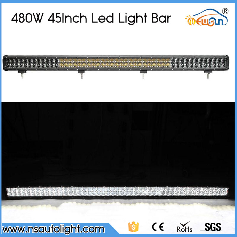 45 inch for P HILIPS 480W LED Light Bar Combo Beam for Jeep Pickup Truck SUV ATV UTV 4WD 4X4 Led Offroad Light Bar 12V 24V oslamp 52 500w led offroad light bar cree chips combo beam led work light for jeep truck atv suv pickup 4wd 4x4 led bar 12v 24v