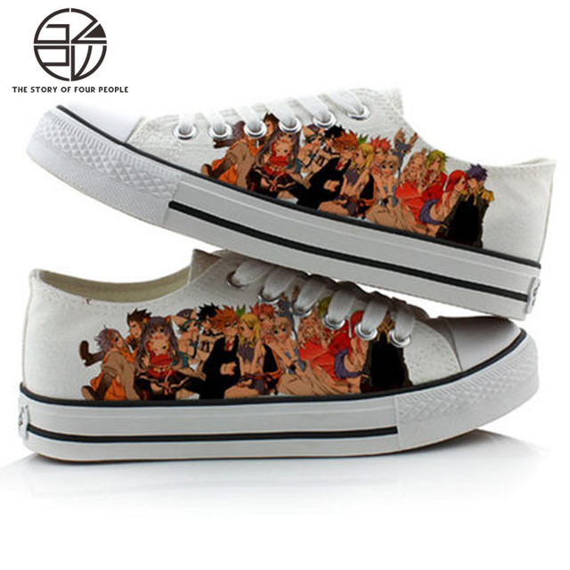 Fairy Tail Men Women Canvas Shoes