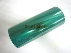 1x 230mm*33 meters*0.06mm Green PET Film Tape, High Temperature Resistant, for PCB Plating, Soldering, Powder Coating Masking