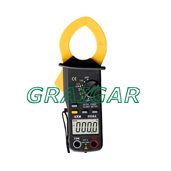 VICTOR 6056A+ Digital Clamp Meter victor 6050 digital clamp meter