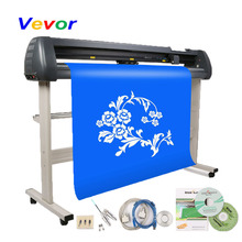 VEVOR Vinyl Cutting Plotter 53 Inch Graph Plotter for Advertising Contour Cutter Hot Cutting Plotter With Artcut Software 1350mm